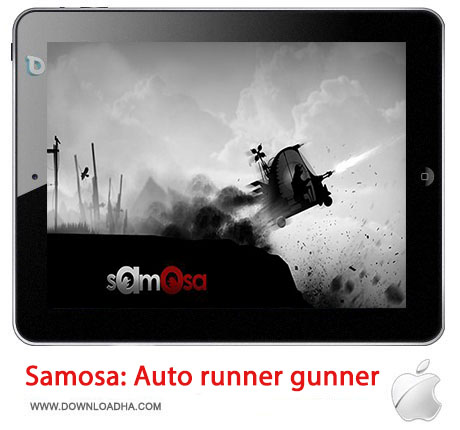 Samosa بازی زیبا و مهیج Samosa: Auto runner gunner مخصوص آیفون ، آیپد و آیپاد