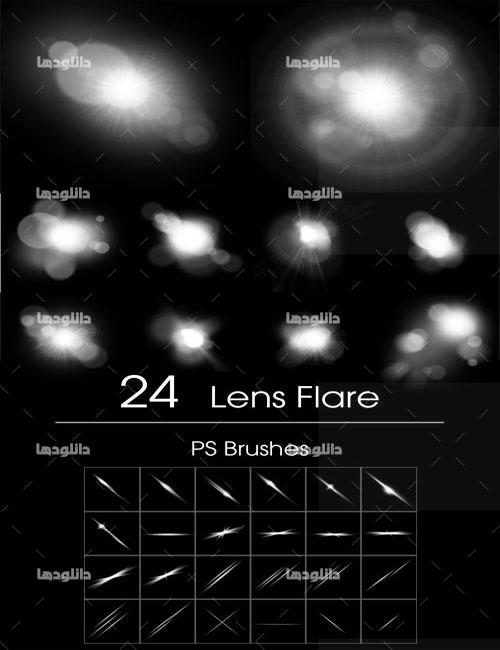 Lens-Flare-Brushes