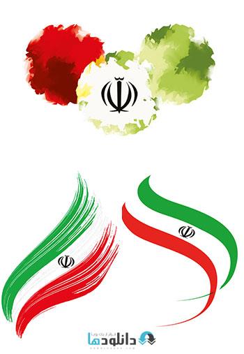 23 flag iran  دانلود 23 طرح تصاویر لایه باز پرچم ایران    23Iran Flag PSD