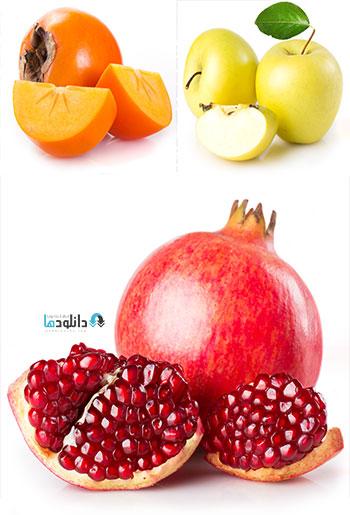 دانلود ۲۵ تصویر با کیفیت از میوه و سبزیجات تازه