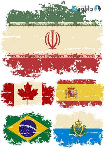 25%20contries%20flag%20vector دانلود ۲۵ وکتور از پرچم کشور های جهان – ۲۵Vector Of Countries Flag