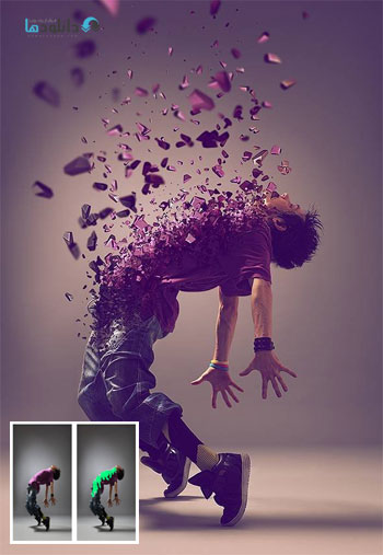 3D Dispersion Photoshop Act دانلود اكشن فتوشاپ 3D Dispersion Photoshop Action