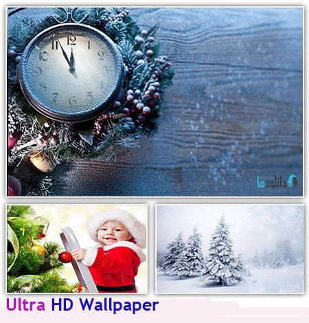4K WALL مجموعه 70 والپیپر کریسمس   4K Ultra HD Christmas Wallpaper