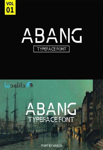 Abang-Typeface-Font