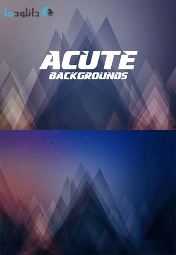 Abstract Acute Backgrounds Vector  دانلود مجموعه وکتور Abstract Acute Backgrounds
