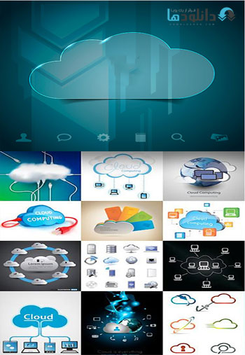 Amazing ShuterStock Cloud Computing  دانلود تصاویر وکتور  Amazing ShuterStock Cloud Computing