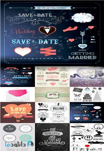 Amazing ShutterStock Wedding Day  دانلود تصاویر وکتور Amazing ShutterStock Wedding Day