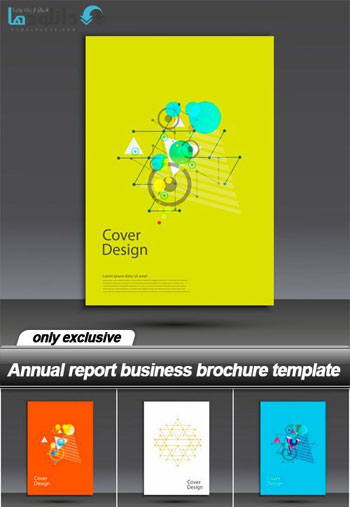 Annual-report-business-brochure-template-Vector