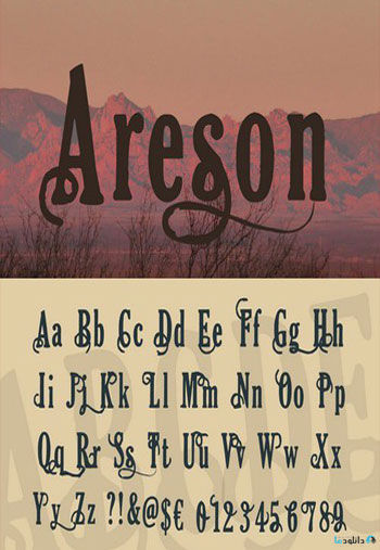 Areson-Font