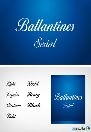Ballantines-Serial-Font-Family