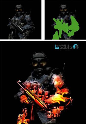 Battlefire دانلود اکشن فتوشاپ  GraphicRiver Battlefire Action