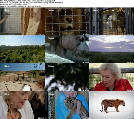 Betty.White.Goes.Wild.HDTV.720p  %28www.Downloadha.com%29 s دانلود مستند Betty White Goes Wild 2013
