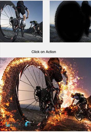 Burning Action دانلود اکشن فتوشاپ  Burning Photoshop Action