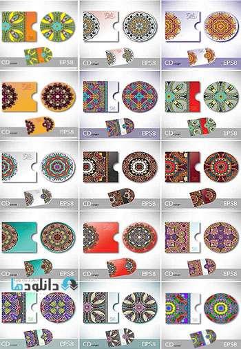 CD Cover Collection  دانلود تصاویر وکتور  CD Cover Collection