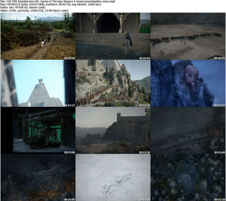 CGI VFX Breakdowns HD  Game پشت صحنه ی ساخت جلوه های ویژه فیلم و انیمیشن ها   سریال Game of Thrones