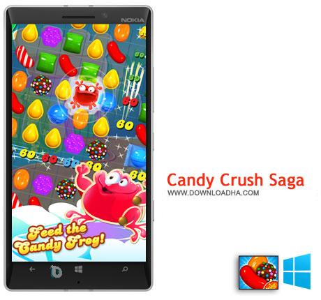 Candy Crush Saga دانلود بازی Candy Crush Saga   ویندوز فون