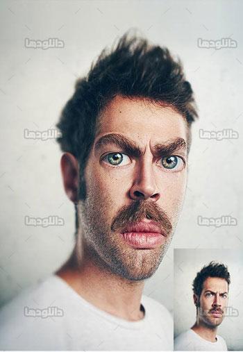 Caricature-Photoshop-Action