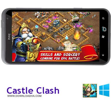 دانلود بازی Castle Clash – ویندوز فون
