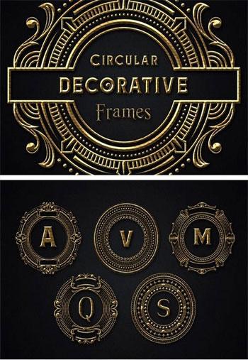 Circular-Decorative-Frames