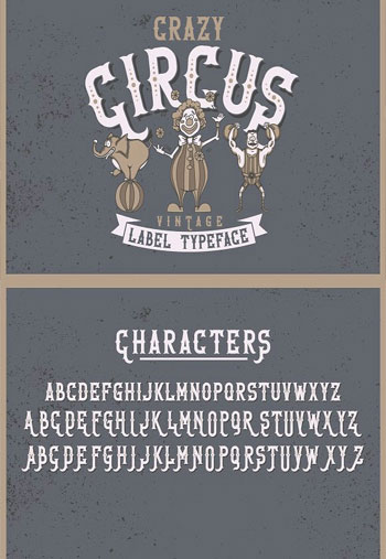 Crazy-Circus-typeface