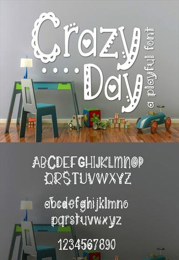 Crazy-Day-a-Playful-Font