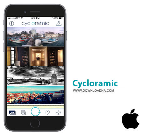 Cycloramic برنامه Cycloramic v4.9.1 – آیفون و آیپاد