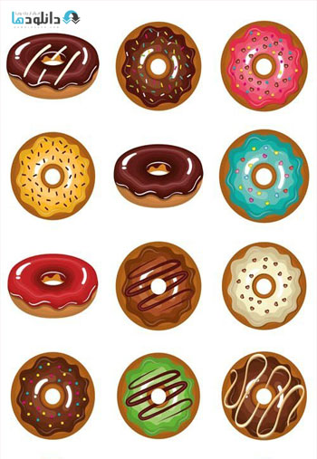 Delicious-Sweet-Donuts-Icon