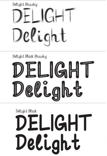 Delight-Font