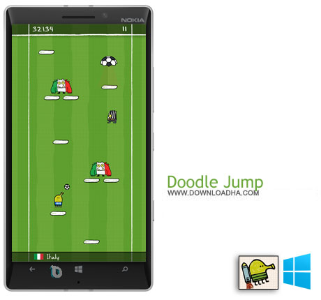 Doodle Jump دانلود بازی Doodle Jump   ویندوز فون