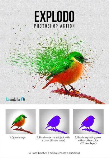 Explodo-Photoshop-Action