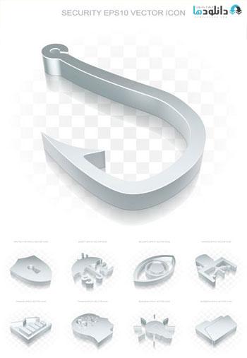 Flat-Metallic-3d-Icons-Transparent-Shadow-2