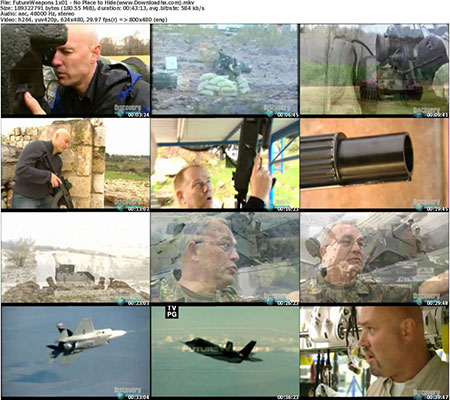 FutureWeapons 1x01   No Place to Hide دانلود فصل اول مستند سلاح‌های آینده – Discovery Channel Future Weapons