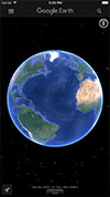 Google Earth  s1 برنامه Google Earth 7.1.6 – آیفون آیپد آیپاد