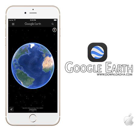 Google Earth برنامه Google Earth 7.1.6 – آیفون آیپد آیپاد