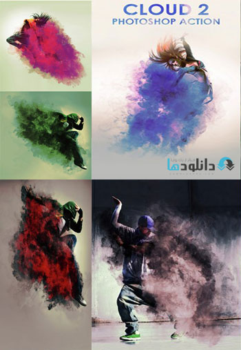 GraphicRiver Cloud2 Photoshop Action دانلود اکشن GraphicRiver Cloud2 Photoshop Action