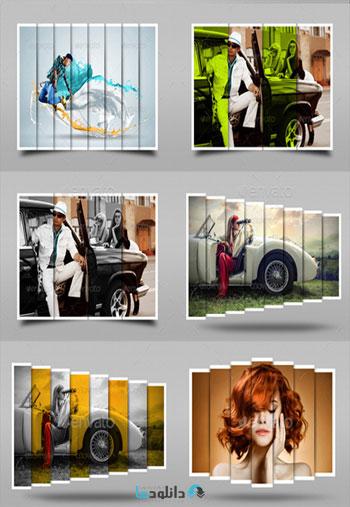 Graphicriver 17 Photo Frames Bundle  دانلود 17 تصویر لایه باز قاب عکس متنوع از گرافیک ریور   Graphicriver 17 Photo Frames Bundle