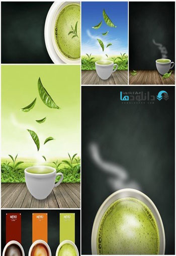 Green-tea.-Background