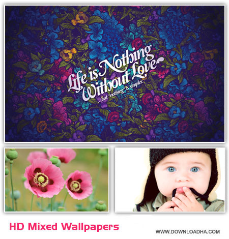 HD Mixed Wallpapers cover  مجموعه ۵۰ والپیپر متنوع – HD Mixed Wallpapers