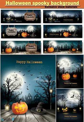 Halloween-spooky-background