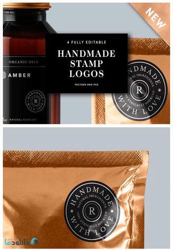 Handmade-Stamp-Logo-Templates