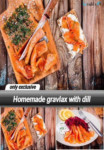 Homemade-gravlax-with-dill