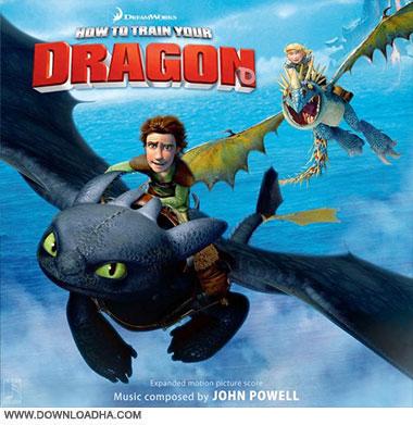 How To Train Your Dragon Soundtrack CD Cover دانلود موسیقی های متن انیمیشن مربی اژدها How to train your dragon 1
