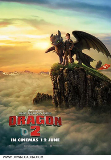 How to train your dragon 2  دانلود انیمیشن مربی اژدها 2 – How to Train Your Dragon 2