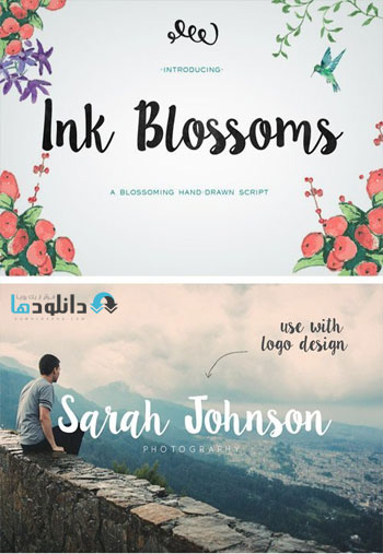 Ink-Blossoms-Brush-Script