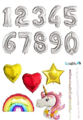 Shaped-Number-Balloons-Overlays