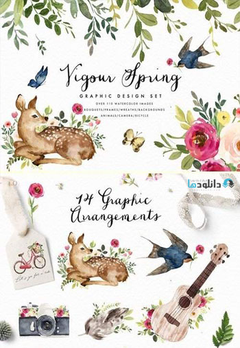 Vigorous-Spring-Graphic-Design-Set