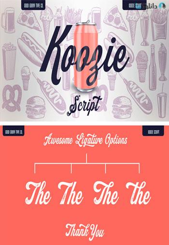 Koozie-Script-Font-Family