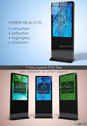 LCD-Digital-Signage-Mockup