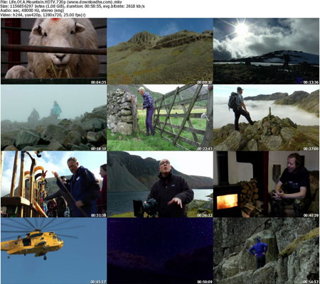 Life.Of.A.Mountain.HDTV.720 دانلود مستند Life of a Mountain: A Year on Scafell Pike 2015