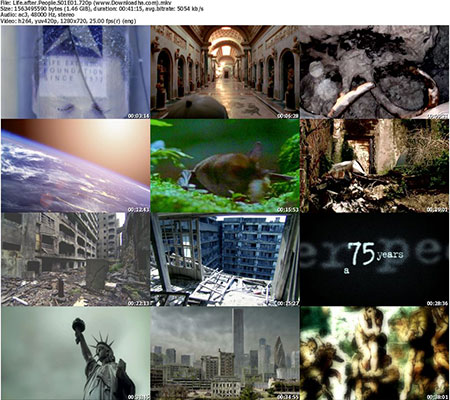Life.after.People.S01E01.720p %28www.Downloadha.com%29 s دانلود مجموعه مستند حیات زمین بعد از نابودی انسان 2009 Life After People